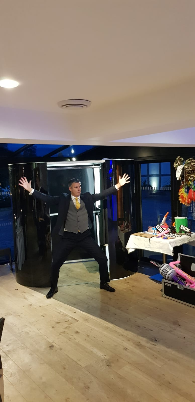 Classic Photo Booth Hire For Corporate Parties | Fun Pro UK